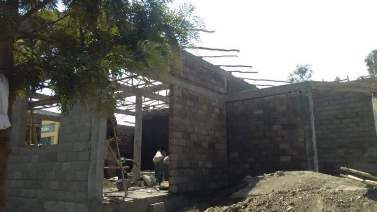 School Under Construction