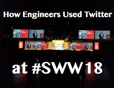 How Engineers Used Twitter During SolidWorks World 2018